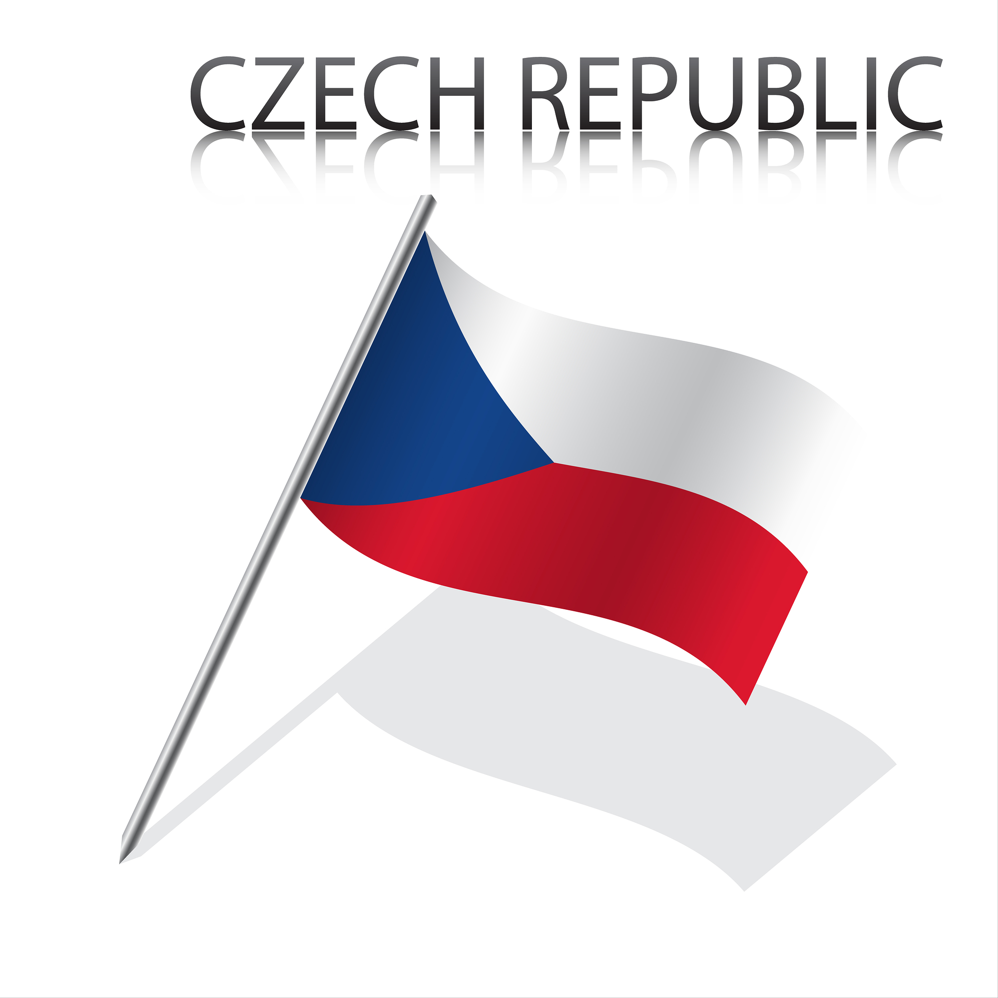 picture of Czech flag