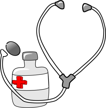 image of stethoscope and medicine