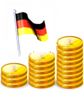 image of german currency