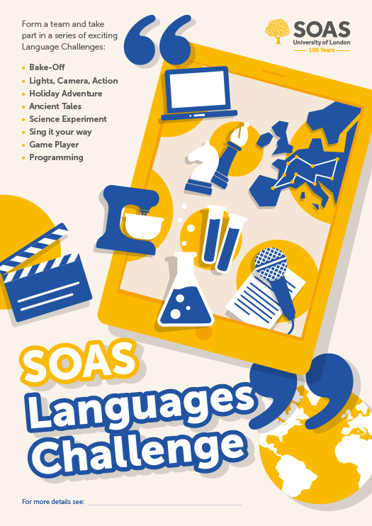 Scilt news view bulletin categories news from language soas languages challenge poster 2016 17 fandeluxe Choice Image