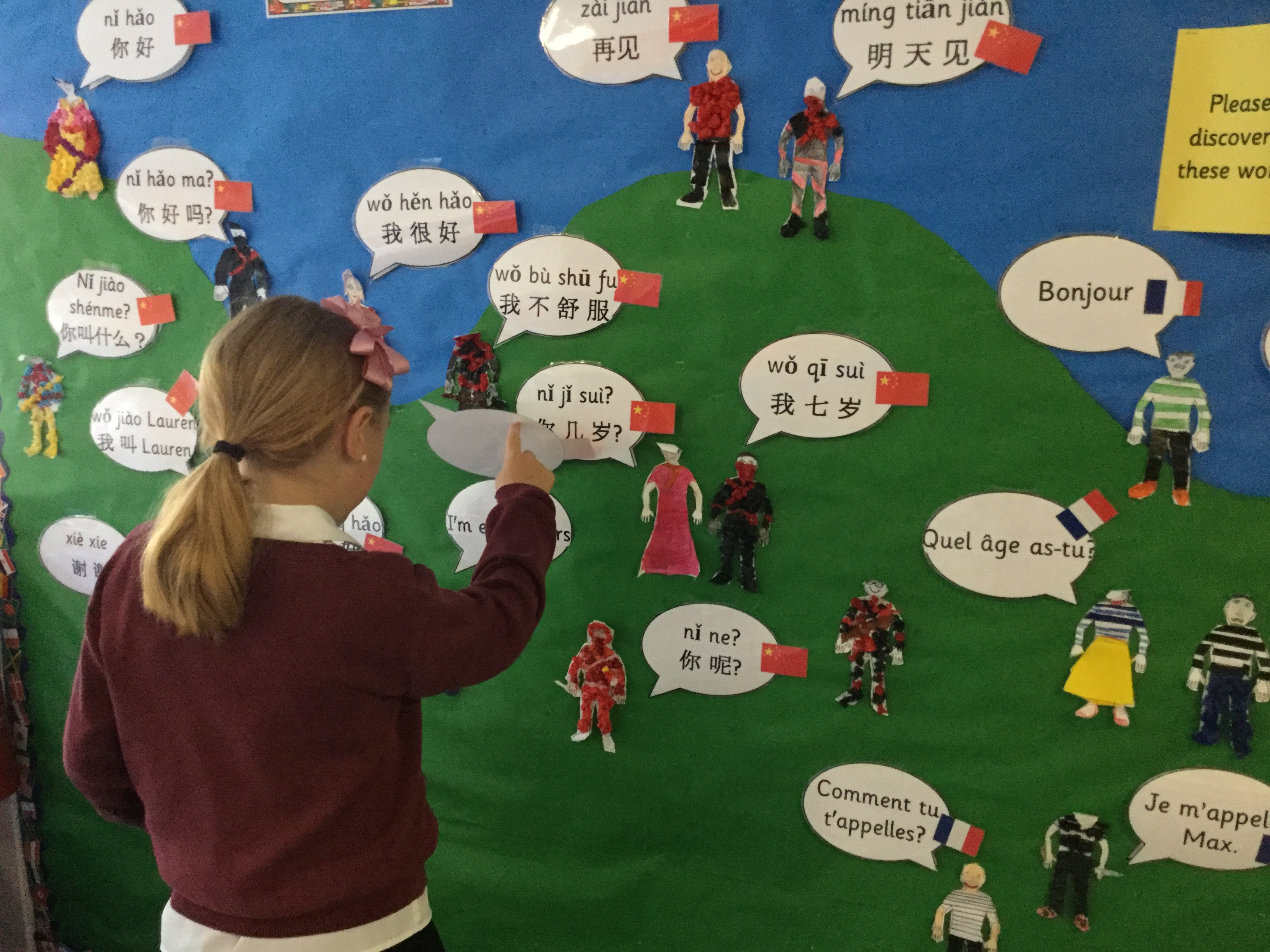 Braehead PS What I have learnt wall display