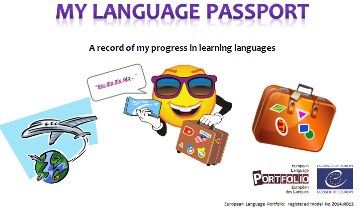 My languages passport - image from ELP