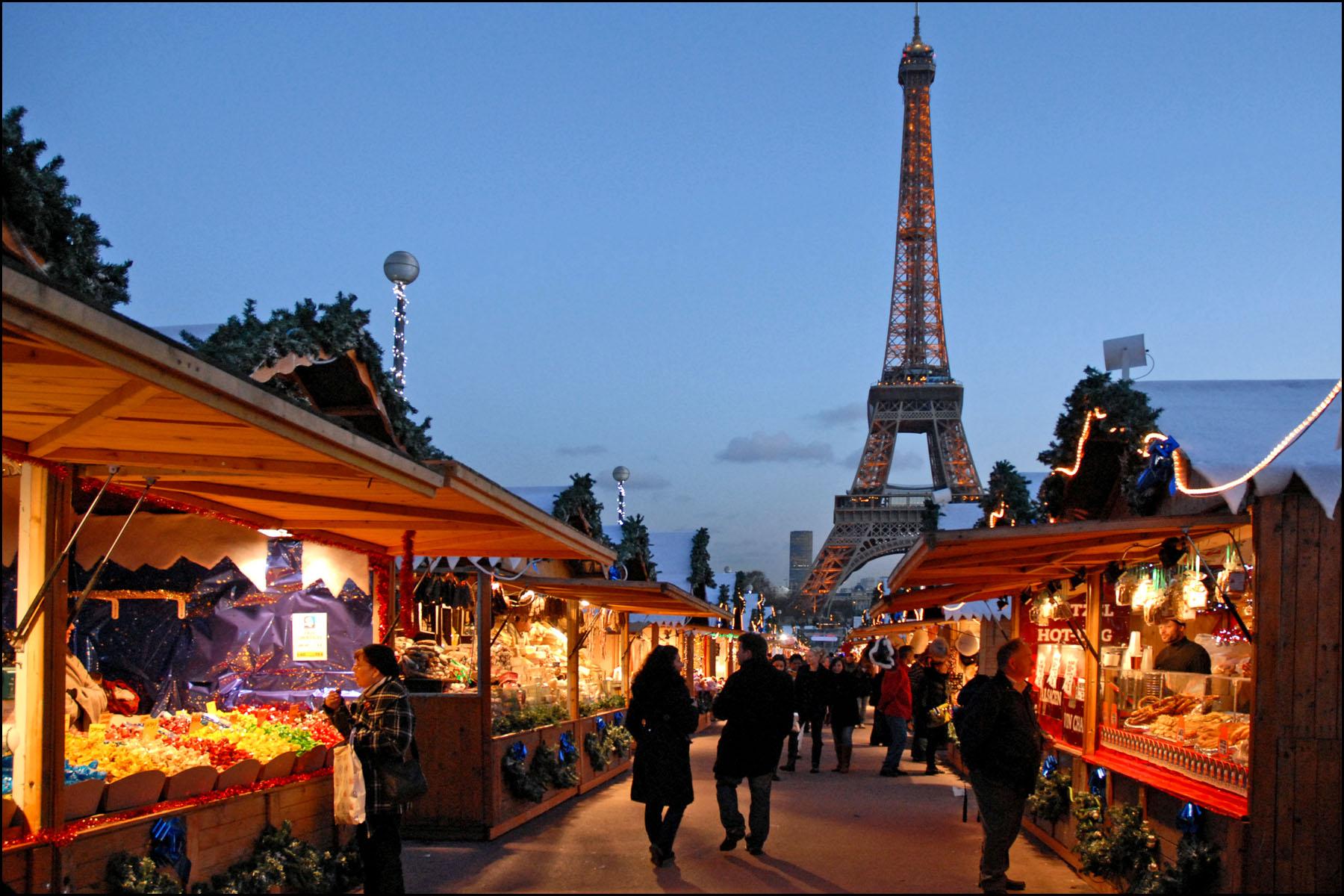 Рождественские фото парижа 3